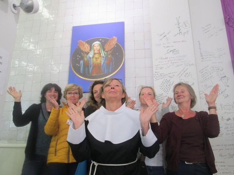 Teambuilding Save the nuns