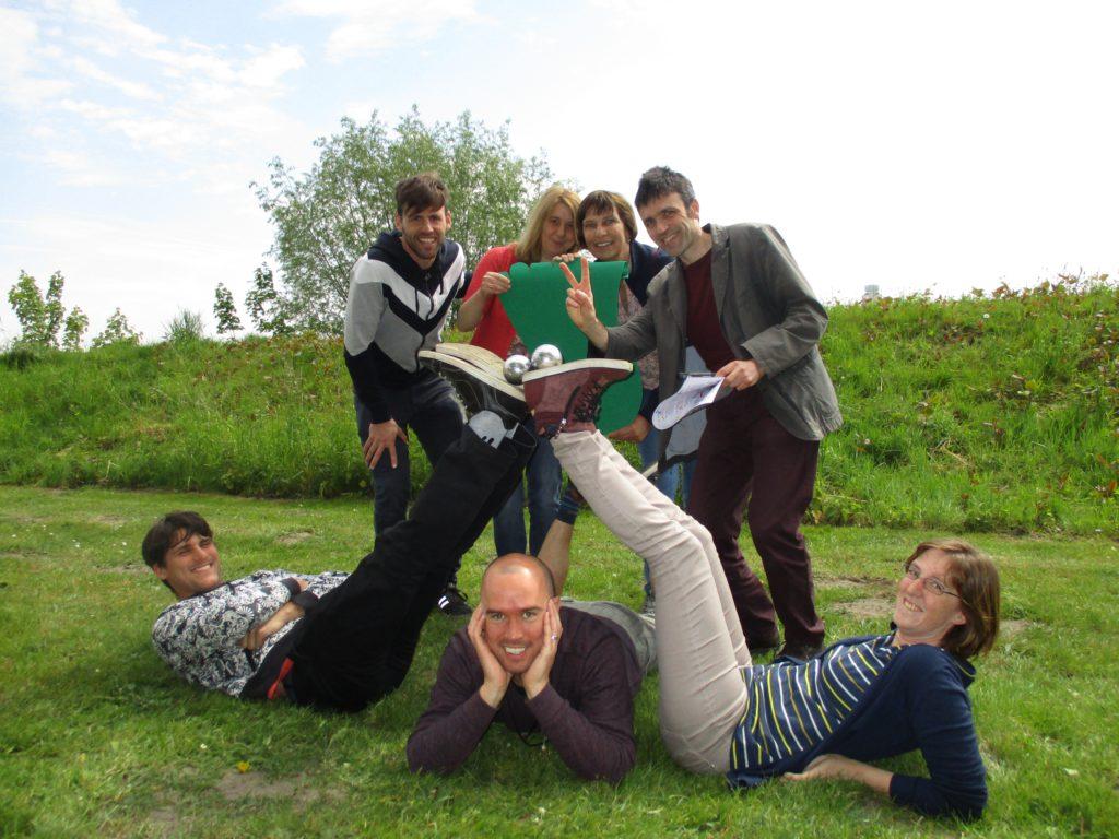 ecologische teambuilding Green Feet